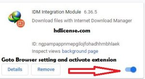 idm extension used to activate internet download manager with serial key