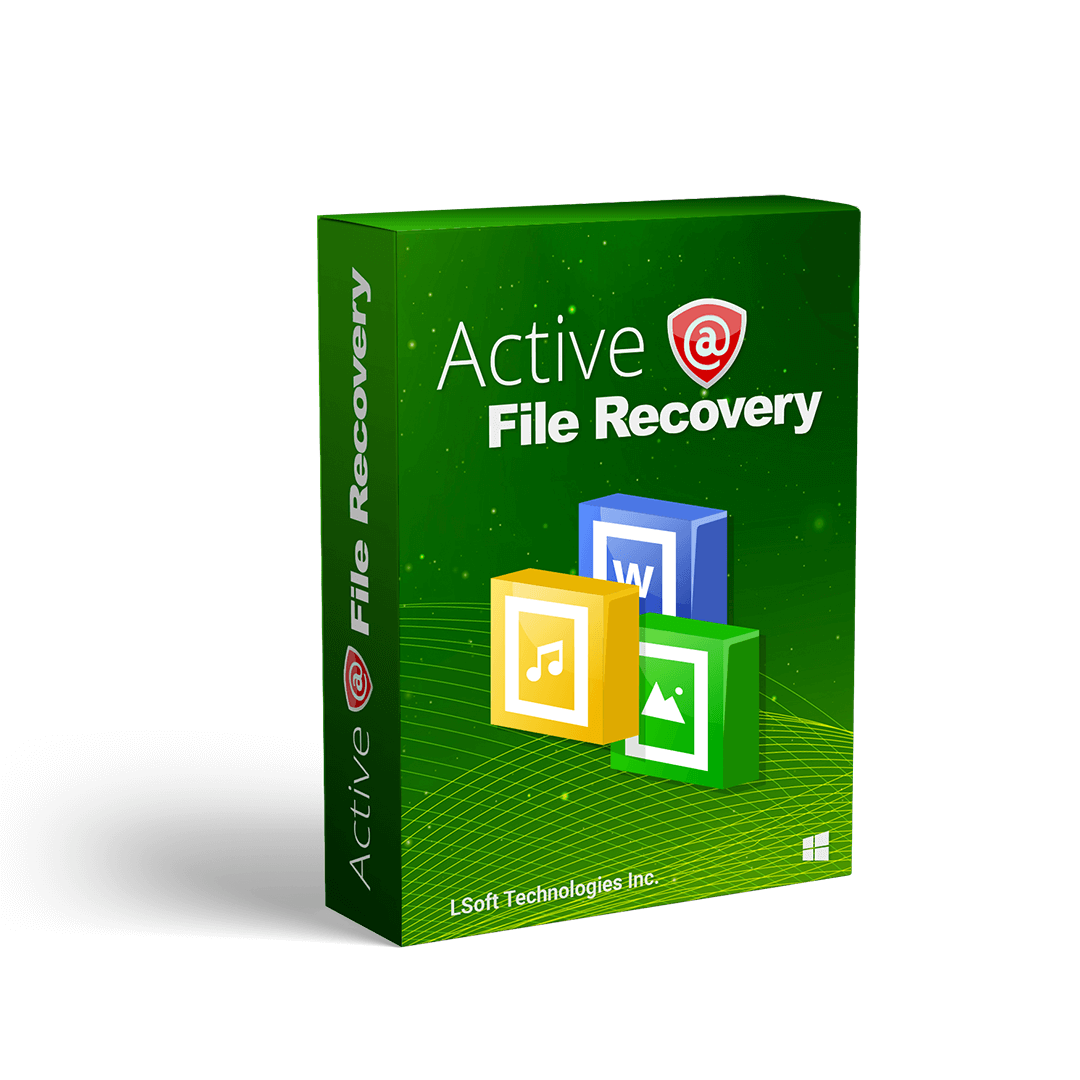 Active file recovery-key