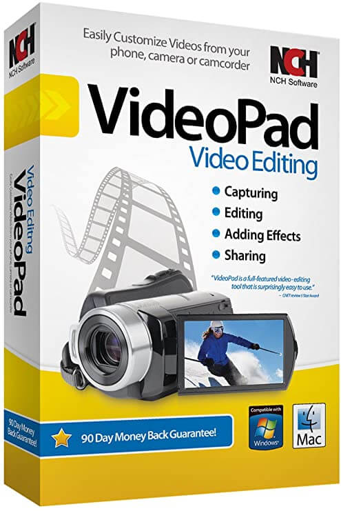 NCHSoftware VideoPad Professional Crack